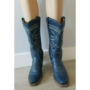 Frye Western Cowboy Boots Size 8 Women's